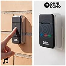 omnidomo ig108412–Campanello wireless con Bluetooth
