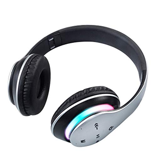 Mikeson Casque Audio, Basse Cavité Métal Choc Bluetooth 5.0 Casque sans Fil De Haute Qualité Binaural Vrai Casque Bluetooth Stéréo sans Fil