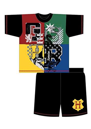 Harry Potter Gryffindor - Pijama Dos Piezas - para niño Negro Black/Multicolour 5-6 Años