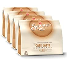 Senseo Caf? Latte, New Design, Pack of 4, 4 x 8 Coffee Pods