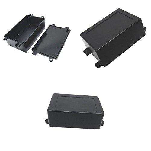 MagiDeal 3 Pcs Plástico ABS Recinto Pequeño Proyecto de Caja para Circuitos Electrónicos Cosumo