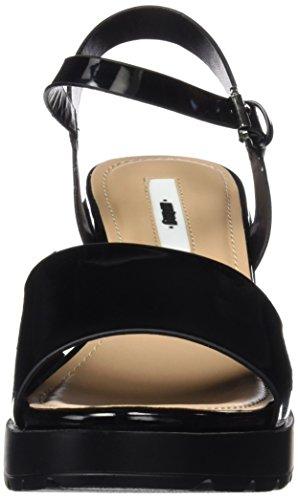 MTNG Collection (MTNGC) Plexy, plateforme femme Noir