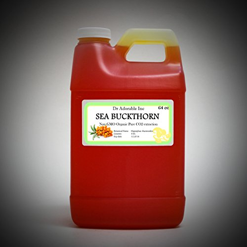 Sea Buckthorn Carrier Oil (Co2 Extracted) 100% Pure 64 Oz / 2 Quarters