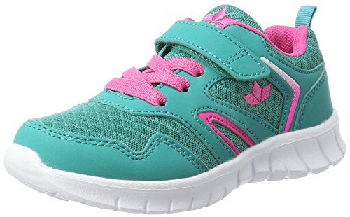 Lico Mädchen Skip VS Sneaker, Türkis/Pink, 32 EU