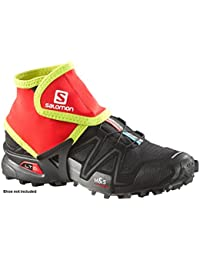 Salomon Polainas Trail Gaiters Bright Red-Gecko Green Talla L