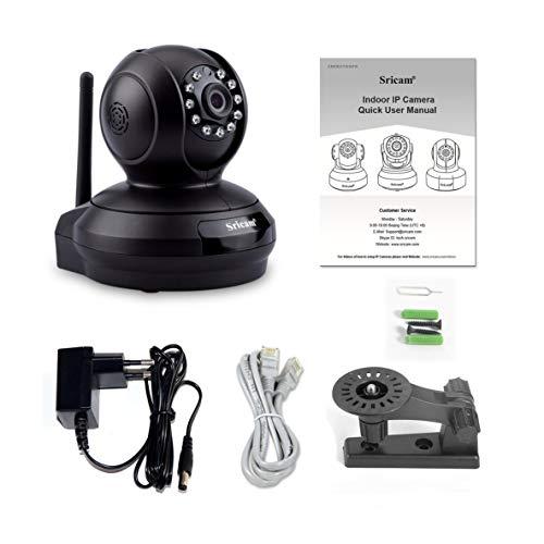 Preisvergleich Produktbild SP019 1080 P HD Home Überwachungskamera Baby Monitor Nachtsicht WiFi Indoor IP Überwachungskamera P2P PTZ Tf Karte