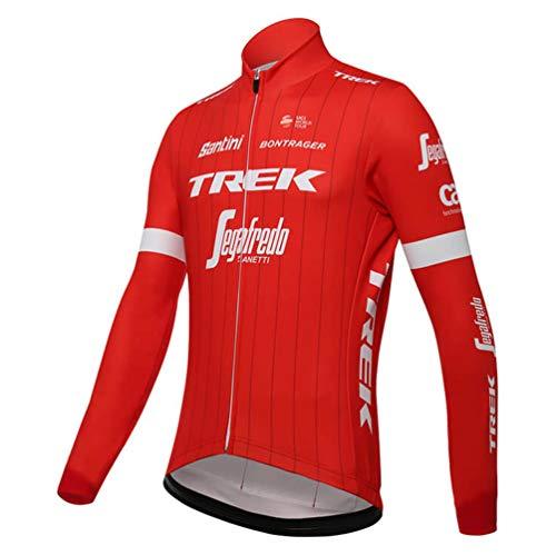 Sports Thriller Rider XiXiMei EU RG9 Mountain Bike Fahrradbekleidung für Herren MTB Fahrrad Radtrikot Langarm Thermisch Warm Jacke Medium
