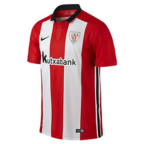 1ª Equipación Athletic Club 2015/2016 - Camiseta oficial Nike, color, rojo/blanco, talla S