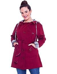 Nouvelle - Blouson -  - Uni - Col chemise classique - Manches longues - 100 DEN Femme