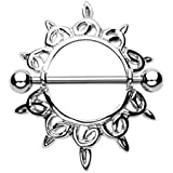 Paula & Fritz®, piercing per ombelico in acciaio chirurgico 316L