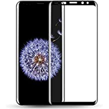 HRV Edge to Edge 5d Screen Guard Premium Quality Anti-Scratch Tempered Glass [Full Screen Coverage] [Anti-Fingerprint] [Bubble Free] [Color-Black] for Samsung Galaxy Note 9