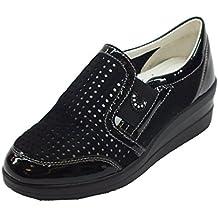 Cinzia Soft Sneakers Donna 37 EU Marrone Camoscio/Vernice Nuevos Estilos Venta Caliente De La Venta Salida Para El Buen Precio Al Por Mayor En Línea ftDqd6lqoE