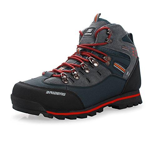 Gomnear de los hombres de montaña Alta subida Trekking Zapatos Antide