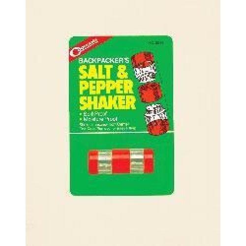 Coghlan's Backpacker Salt & Pepper Shaker - Spill/Moisture Proof, Easy Filling