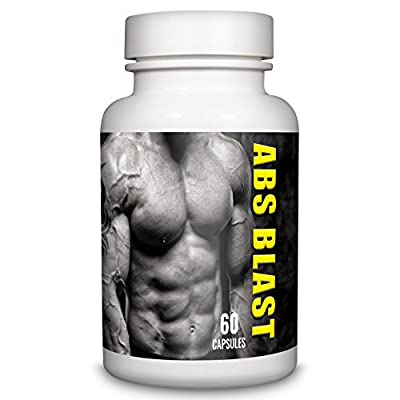 ABS BLAST Extreme Fat Burner by Natural Answers - 60 Capsules - 1 Month Supply - Strong Weight Loss Support Diet Pills For Men - UK Manufactured