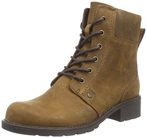 Clarks Orinoco Spice, Women's Boots, Brown (brown Snuff), 3.5 UK (36 EU)