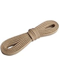 Cordones de zapatos - TOOGOO(R)2 Pares Cuerda de calzado deportivo Cordones de zapatos planos para unisex Azul oscuro