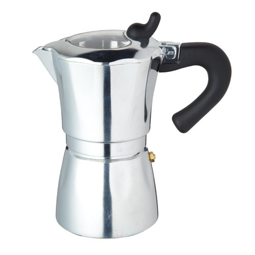 World Of Flavours Italian 300ml Six Cup Espresso Coffee Maker 41rb3g94uzL