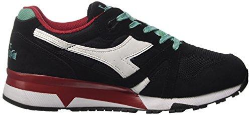 Diadora Herren N9000 Iii Sneakers Schwarz (nero / Cascata / Peperoncino)