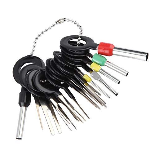 Terminal Entfernungswerkzeug, 18 Stücke Auto Kabelbaum Stecker Terminal Extractor Pick Stecker Crimp Pin Zurück Nadel Entfernen werkzeug -