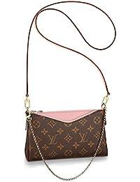 65add81465f73 Noah Birch Pallas Style Monogram Cluth Crossbody Tote Women s Organizer  Handbag Shoulder Fashion Leather Bag