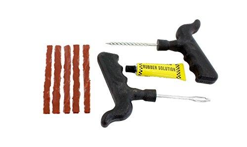 HUKITECH Pannenhilfe Auto Reifen Reparaturset - schnelle Reparatur im Notfall - Reifenreparatur Set Reifen-Reparatur-Set Werkzeug