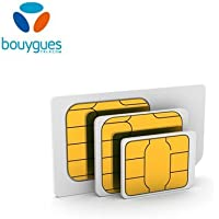 Prepaid SIM card Bouygues Télécom