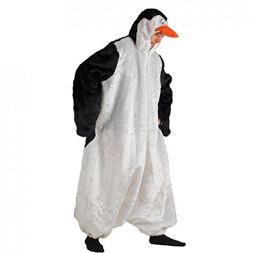 Krause & Sohn Oversize Kostüm Pinguin Theo Tierkostüm Pinguine Fasching Kaiserpinguin ()