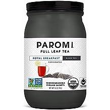 Paromi Té de hoja completa verde delicioso caliente o con hielo, endulzado con miel o
