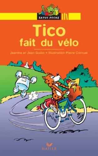 Tico fait du vélo