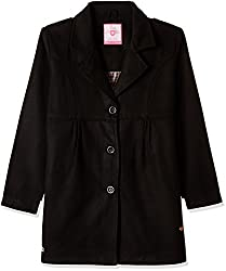 612 League Girls Coat (ILW16I63021_Black_9-10YRS)