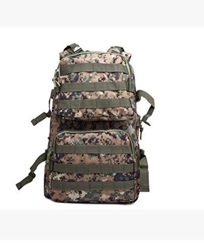 HCLHWYDHCLHWYD-Camuffamento zaino da trekking uomini e donne borsa sacchetti esterni di alpinismo di campeggio impermeabile pacchetto , 2 6