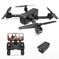 DEERC DE25 Drone with Camera 1080P HD Camera Drone FPV Live Video and GPS Auto Return Compact RC Quadcopter for Beginners and Professionals, Long Flight 16 Minutes 19