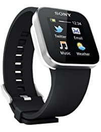 "Sony SmartWatch - Smartwatch Android (pantalla 1.3"", Bluetooth, Android), color negro"