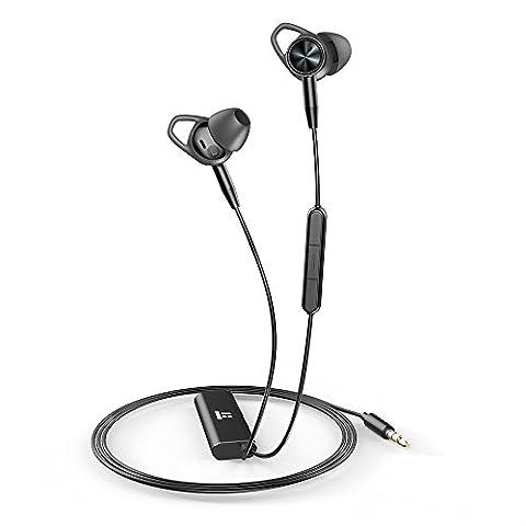 Annulation De Commande - Écouteurs Filaires TaoTronics à Annulation de Bruit