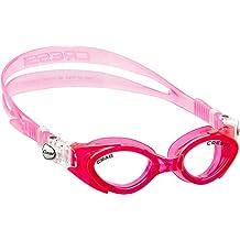 Cressi Crab - Gafas de natación para niña, color rosa