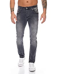Rock Creek Jeans da Uomo Regular Fit Pantaloni da Uomo M2