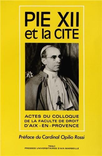 Pie XII et la Cité