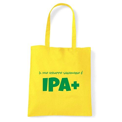 Art T-shirt, Borsa Shoulder IPA+, Shopper, Mare Giallo