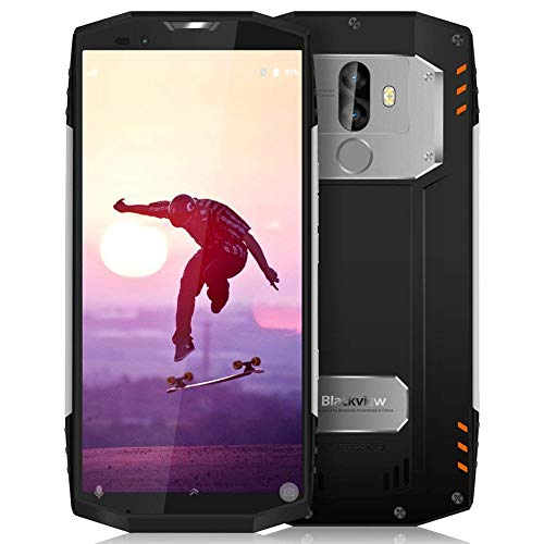 "Telefono Antiurto, Blackview BV9000 Pro 5.7"" 18:9 FHD+ Outdoor Smartphone Dual SIM, 6GB RAM e 128GB ROM 2160 * 1080 Cellulare IP68, 13MP+5MP/8MP Rugged Smartphone 4G, GPS,GLONASS,Face ID,NFC- Argento"