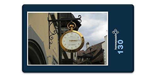 hansepuzzle 35993 Reisen - Schaffhausen, 130 Teile in hochwertiger Kartonbox, Puzzle-Teile in wiederverschliessbarem Beutel
