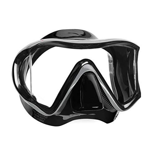 Mares I3 Dreiglas Tauchmaske (Farbe: Schwarz), 0792460251138 -