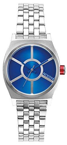 Reloj Nixon Star Wars R2D2 Blue A399SW2403 Mujer Acero Plateado