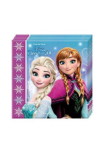 Procos 86757–Servietten Papier Disney Frozen Northern Lights (33x 3