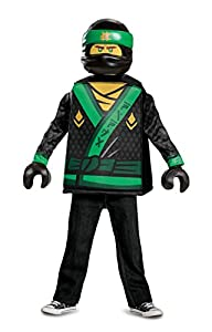 LEGO Ninjago Movie 23474l PK1Lloyd Ninjago Movie Classic S (4-6J.), joven, Verde, 109-126cm