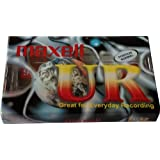 Maxell Cassette Audio 90Min, Normal (10-Pack)