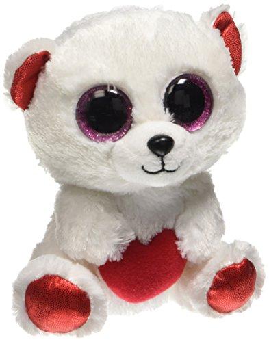 "Beanie Boo Valentine's Bear - Cuddly - 15cm 6"""