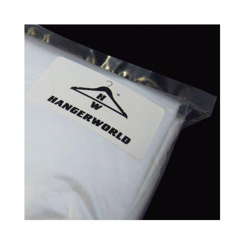 + HANGERWORLD- 100 Sacchetti lavanderia antipolvere per abiti trasparenti – 96,5 cm comprare on line