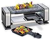 Küchenprofi 1760002800 Raclette VISTA2, 350 W, Silber