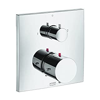 AXOR 10726001 Starck X Thermostatic Trim with Volume Control and Diverter, Chrome by AXOR